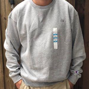 Champion Sweatshirt Fleece Men/'s Crewneck Powerblend Sweats Pullover Authentic